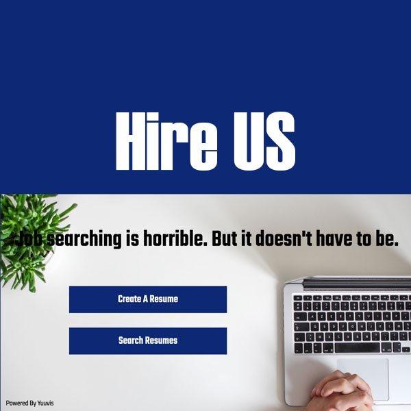 Hire Us Logo