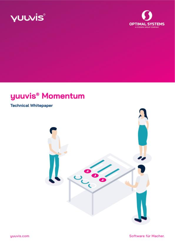 Cover: yuuvis® Momentum –Technical Whitepaper