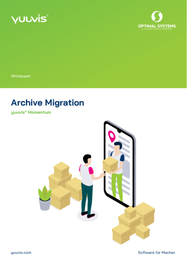 Title page yuuvis® Momentum Archive Migration whitepaper