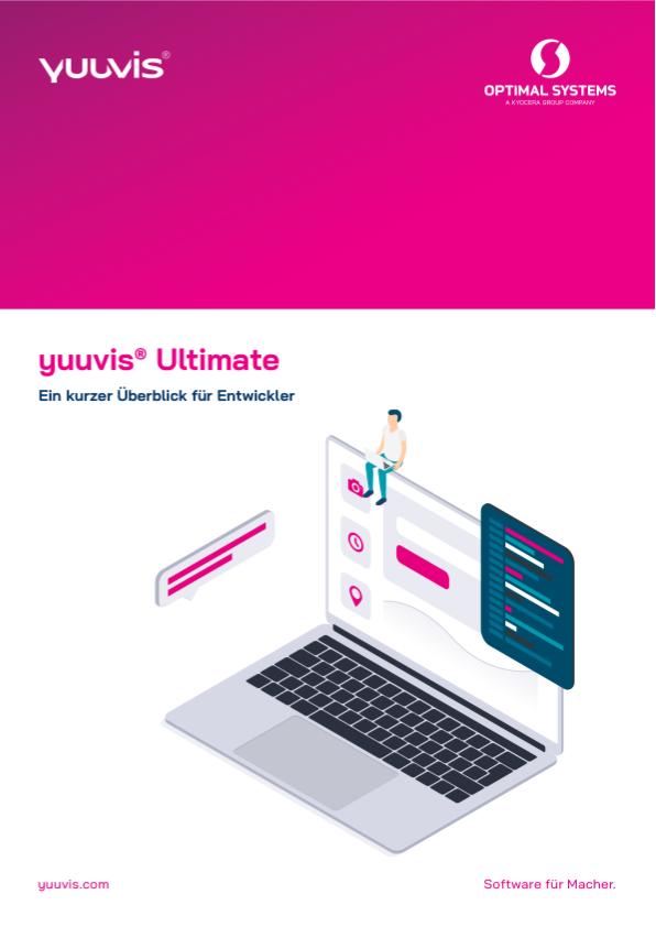 Titelblatt yuuvis® Ultimate Überblick für Entwickler
